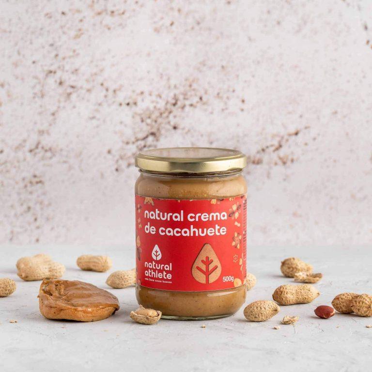 crema de cacahuete natural