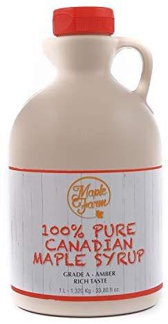 Miel de arce - Sirope de Arce - Original maple syrup
