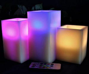 decoracion velas exterior