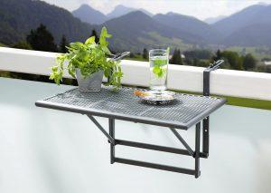 mesa colgante balcon